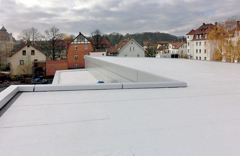 Referenzen Flachdach - Max-Bohn GmbH aus Bayreuth